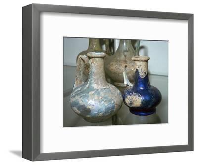 Roman glass bottles-Unknown-Framed Giclee Print