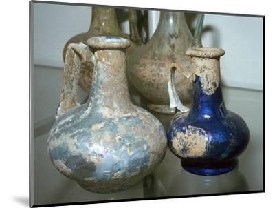 Roman glass bottles-Unknown-Mounted Giclee Print