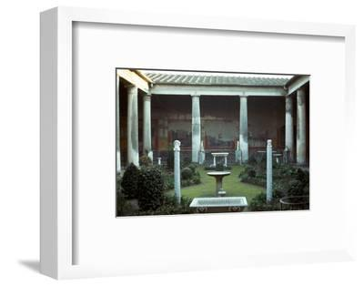 The house of the Vettii in Pompeii, 1st century-Unknown-Framed Photographic Print