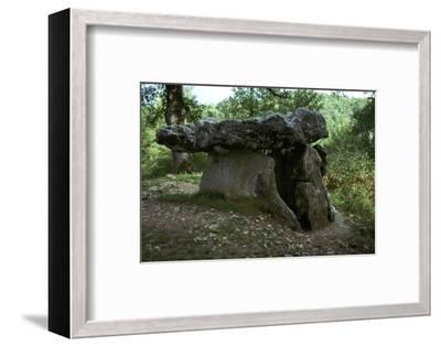 French Dolmen-Unknown-Framed Photographic Print