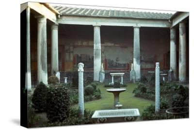 The house of the Vettii in Pompeii, 1st century-Unknown-Stretched Canvas Print