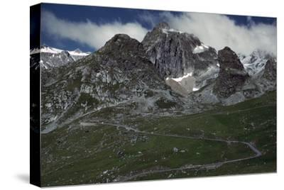 St Bernard Pass-Unknown-Stretched Canvas Print