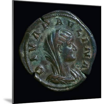 Gold coin of Paulina, 3rd century-Unknown-Mounted Giclee Print
