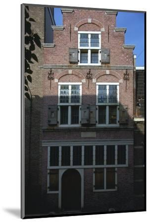 Rembrandt's House, 17th century-Unknown-Mounted Photographic Print