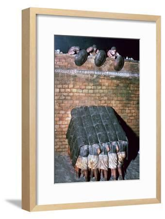 Demonstration of a Testudo-Unknown-Framed Giclee Print