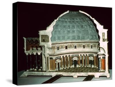 Model of the Pantheon, 1st century-Unknown-Stretched Canvas Print