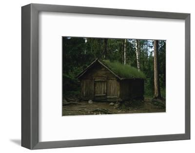Lapland hut-Unknown-Framed Photographic Print