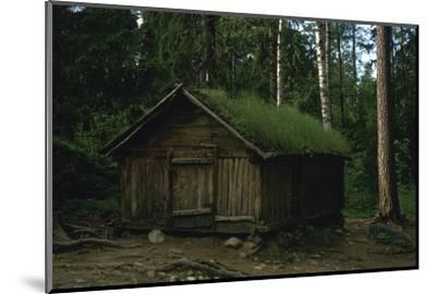 Lapland hut-Unknown-Mounted Photographic Print