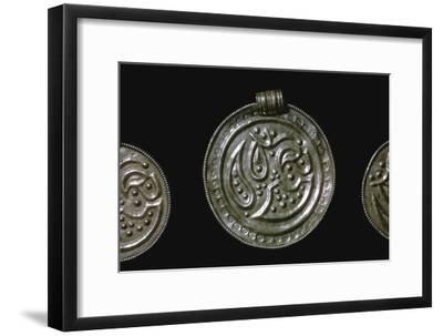 Gold Iron Age Bracteate-Unknown-Framed Giclee Print