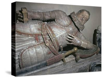 Effigy of Sir John Scudamore, 17th century-Unknown-Stretched Canvas Print