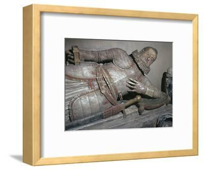 Effigy of Sir John Scudamore, 17th century-Unknown-Framed Giclee Print