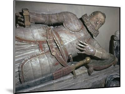 Effigy of Sir John Scudamore, 17th century-Unknown-Mounted Giclee Print