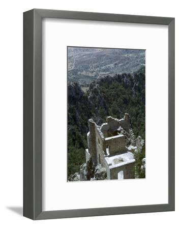 Buffavento Castle, 11th century-Unknown-Framed Photographic Print