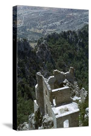 Buffavento Castle, 11th century-Unknown-Stretched Canvas Print