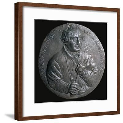 Medal of Paracelsus-Unknown-Framed Giclee Print