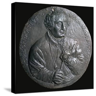 Medal of Paracelsus-Unknown-Stretched Canvas Print