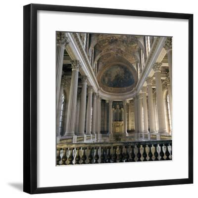 Upper floor of the Chapel of Versailles, 17th century-Unknown-Framed Photographic Print