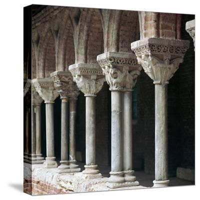 Cloister at Mossaic, 11th century-Unknown-Stretched Canvas Print