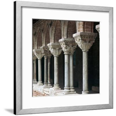 Cloister at Mossaic, 11th century-Unknown-Framed Giclee Print