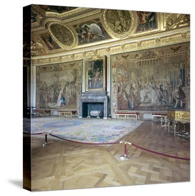 Salon de Mars at the Palace of Versailles, 17th century-Unknown-Stretched Canvas Print
