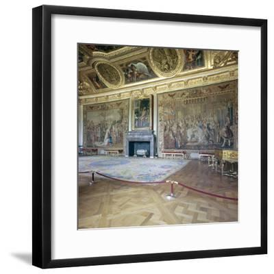 Salon de Mars at the Palace of Versailles, 17th century-Unknown-Framed Photographic Print