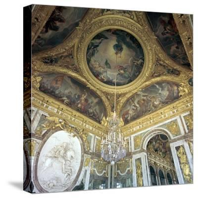 Hall of War at Versailles, 17th century-Unknown-Stretched Canvas Print