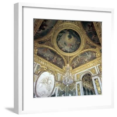 Hall of War at Versailles, 17th century-Unknown-Framed Photographic Print