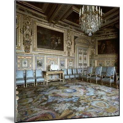 Salon of Louis XIII in Fontainebleau, 17th century-Unknown-Mounted Photographic Print