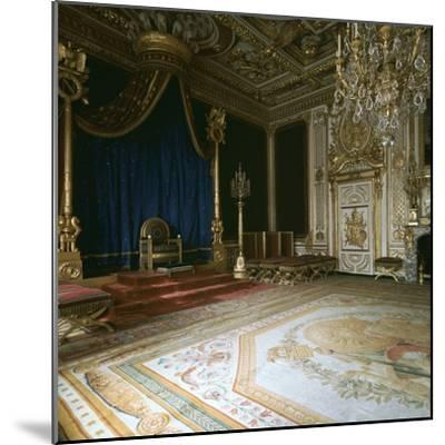 Napoleon's Throne-Room, 19th century-Unknown-Mounted Photographic Print