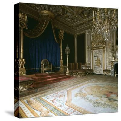 Napoleon's Throne-Room, 19th century-Unknown-Stretched Canvas Print