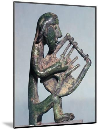 Minoan bronze of a harpist-Unknown-Mounted Giclee Print