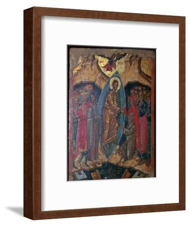 Ikon of a descent into Hell, 17th century-Unknown-Framed Giclee Print