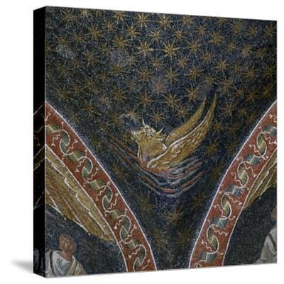 Vault mosaic from the Mausoleum of Galla Placida, 5th century-Unknown-Stretched Canvas Print