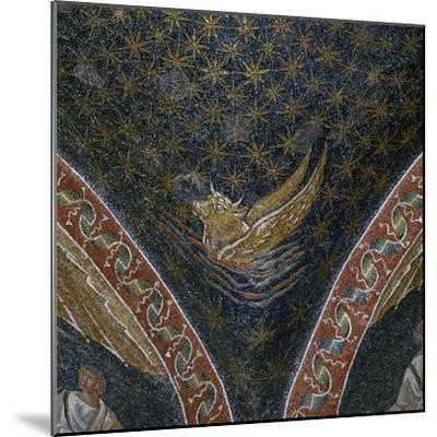 Vault mosaic from the Mausoleum of Galla Placida, 5th century-Unknown-Mounted Giclee Print