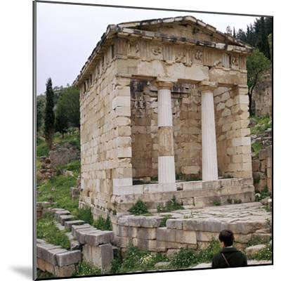 Treasury of the Athenians in Delphi, 5th century BC-Unknown-Mounted Photographic Print