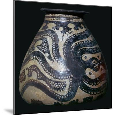 Minoan pot with an octopus motif-Unknown-Mounted Giclee Print