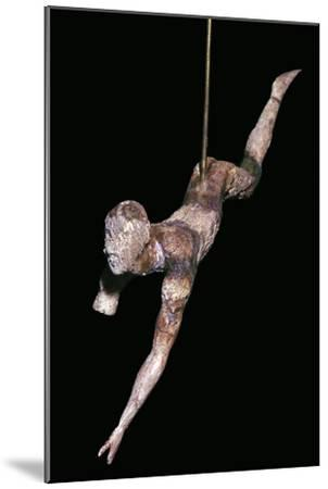 Minoan ivory bull-leaper-Unknown-Mounted Giclee Print