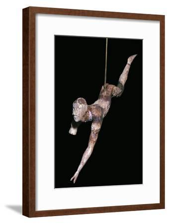 Minoan ivory bull-leaper-Unknown-Framed Giclee Print