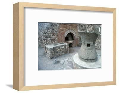 Bakery in Pompeii, 1st century-Unknown-Framed Photographic Print