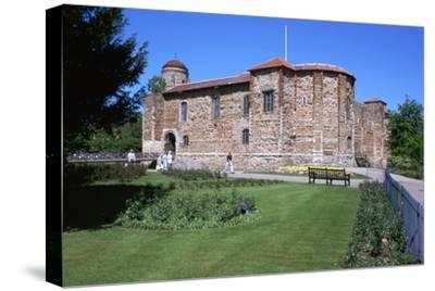 Colchester Castle, 11th century-Unknown-Stretched Canvas Print