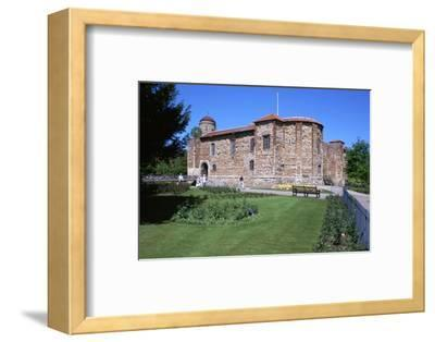 Colchester Castle, 11th century-Unknown-Framed Photographic Print