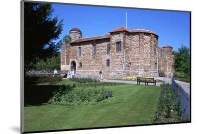 Colchester Castle, 11th century-Unknown-Mounted Photographic Print