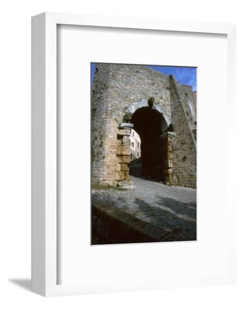 The Etruscan Arch in Volterra, 4th century BC-Unknown-Framed Photographic Print