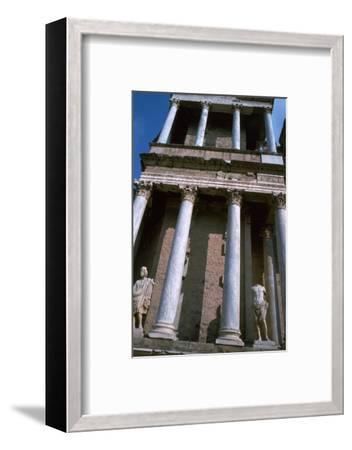 The Roman Theatre at Merida, 1st century BC-Unknown-Framed Photographic Print
