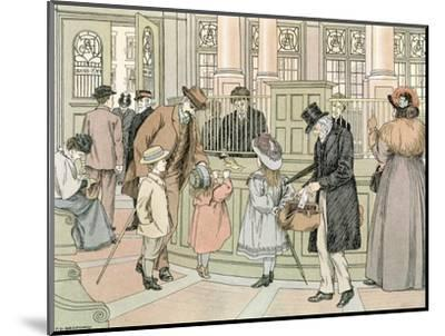 The Bank, 1899-Francis Donkin Bedford-Mounted Giclee Print