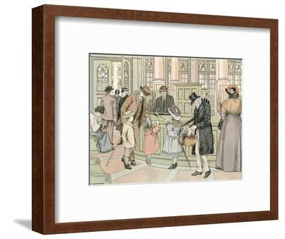 The Bank, 1899-Francis Donkin Bedford-Framed Giclee Print