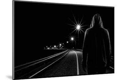 Night Road-Patrick Foto-Mounted Photographic Print