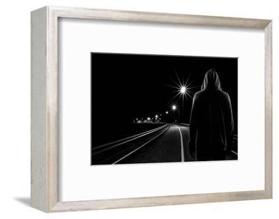 Night Road-Patrick Foto-Framed Photographic Print