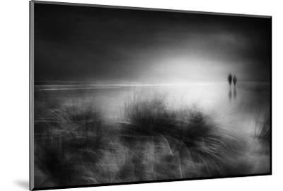 Everything changes like the shoreline and the sea-Charlaine Gerber-Mounted Photographic Print