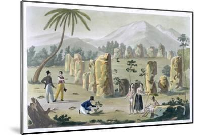'House of the Ancients, Island of Tinian', c1820-1839-G Bramati-Mounted Giclee Print